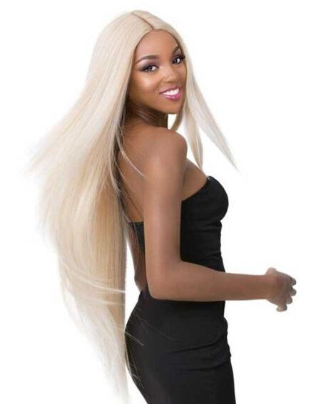 Straight Blonde Wig, 613 Blonde